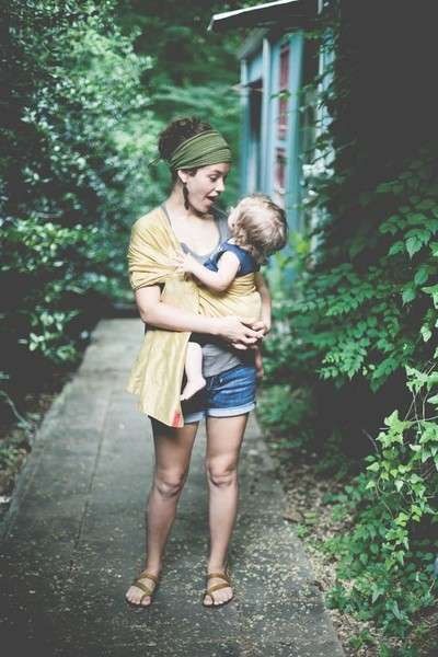 Babywearing is good for mom, too
