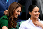 What Kate Middleton And Meghan Markle Wore During Their Postpartum Months