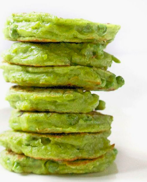 Try pea fritters