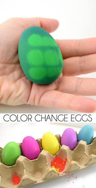 Thermochromic Easter Eggs