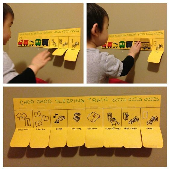 Give young children an interactive chart