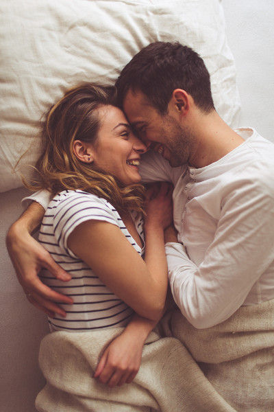 Cuddle up with your partner