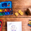 Have The Kids Draw His Picture