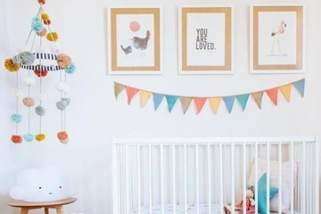Nursery Pom Pom Decor You'll Want To DIY