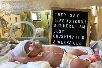 This NICU Mom With Moxie Became A Social Media Hero