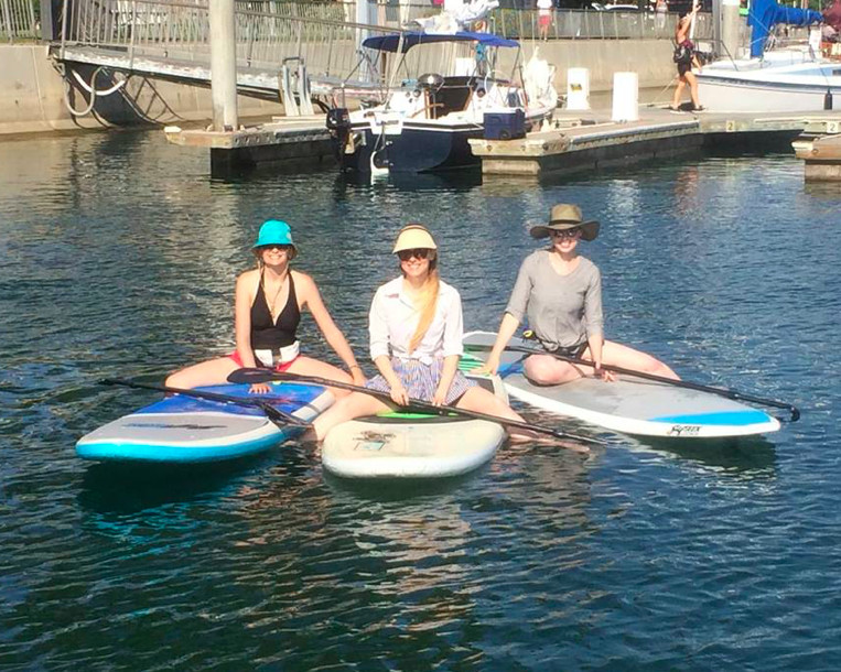I'd been dreaming about paddleboarding for years but somehow motherhood kept getting in the way...