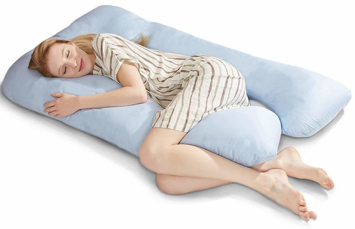 The Best Reviewed Pregnancy Pillows On Amazon