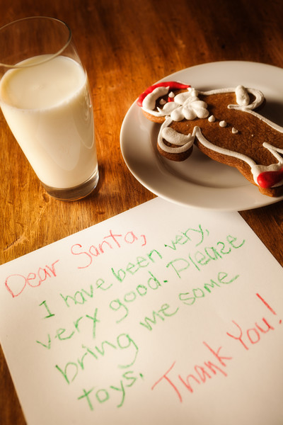 Include A Letter From Santa