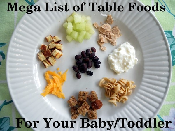 Look for simple finger foods