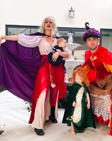 The Most Elaborate Celebrity Family Halloween Costumes