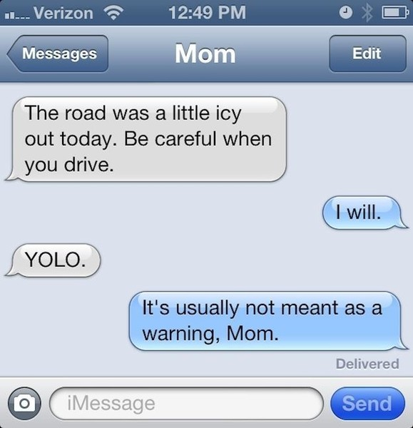 The Funniest Text Messages Between Parents And Their Kids Mabel Moxie