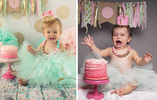 Happy Birthday? - The Funniest Baby Photoshoot Fails Ever - Mabel + Moxie