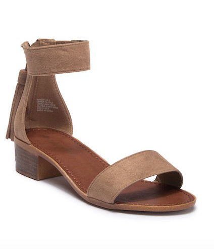 Snag These Pretty Sandals